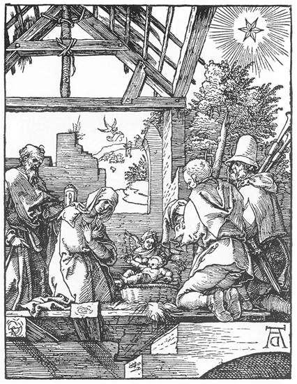 The Nativity, 1511 - Albrecht Durer