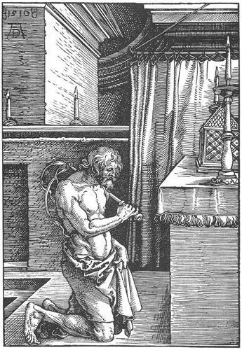 The Penitent - Albrecht Durer