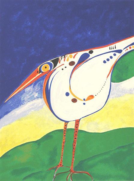 White Bird, 2003 - Aldemir Martins
