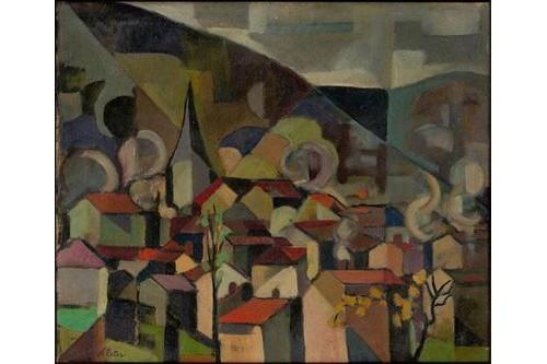 View of the bridge, 1936 - 1938 - Aleksandra Ekster