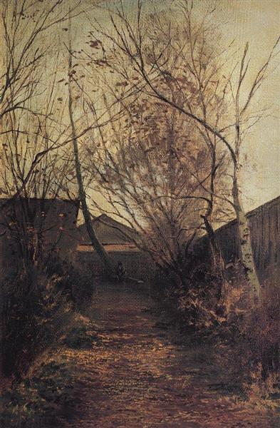 Alley, c.1870 - Aleksey Savrasov
