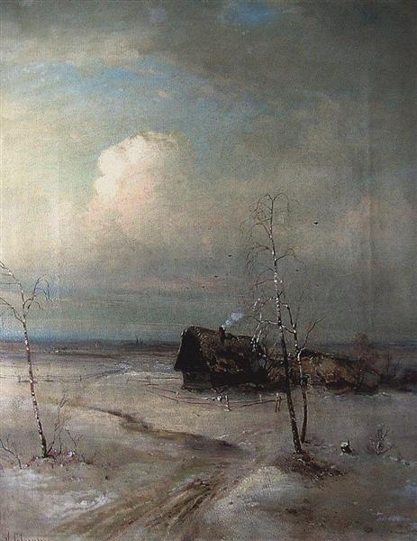Early Spring, c.1890 - Aleksey Savrasov