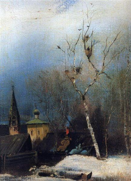 Early Spring, c.1890 - Aleksey Savrasov