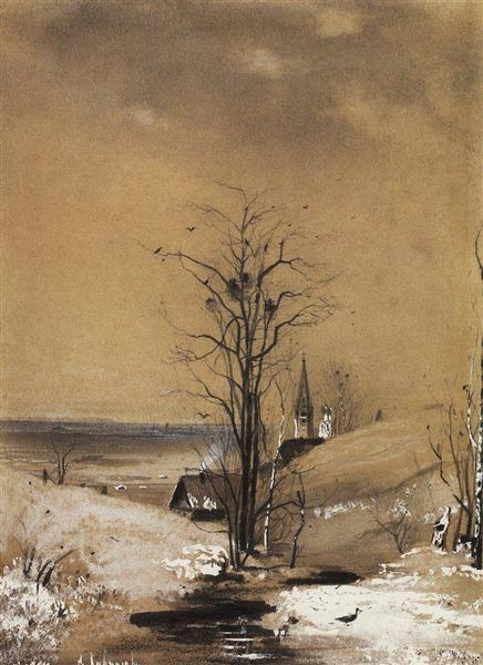 Early Spring - Aleksey Savrasov