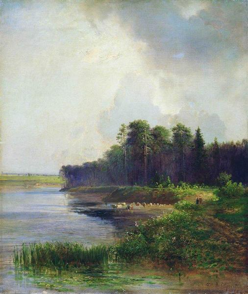 Riverside, 1879 - Aleksey Savrasov