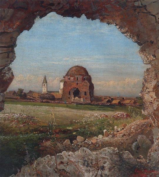 Село Болгары, 1872 - Алексей Саврасов