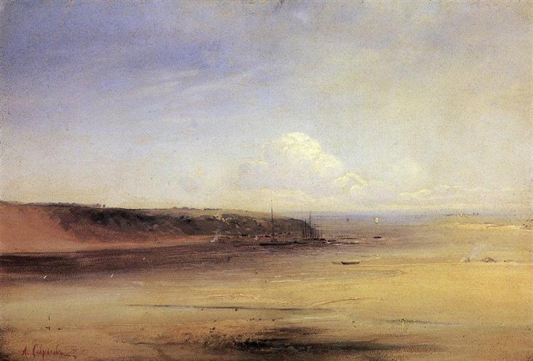 Volga, c.1870 - Alexei Kondratjewitsch Sawrassow