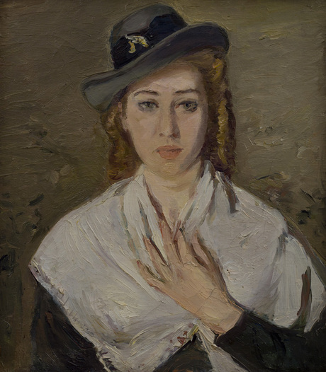 Academy of Art student M. Zdanevich portrait, 1949 - Alexander Bazhbeuk-Melikyan