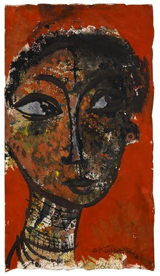 Untitled (Head of a Woman) - Alexander Boghossian