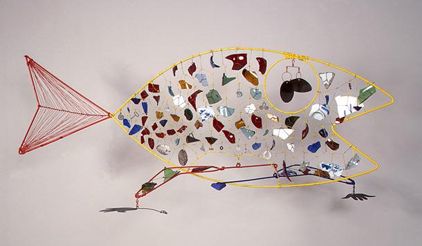 Finny Fish, 1948 - Александр Колдер