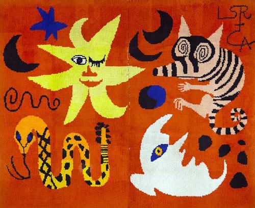 Hooked Rug, 1965 - Alexander Calder