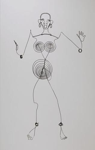 Josephine Baker (III) - Alexander Calder