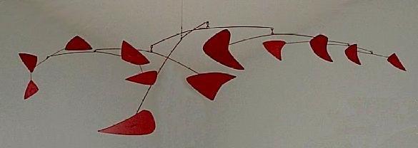 Red Mobile, 1956 - Alexander Calder