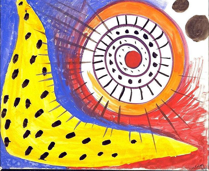Spiral Composition, 1970 - Alexander Calder