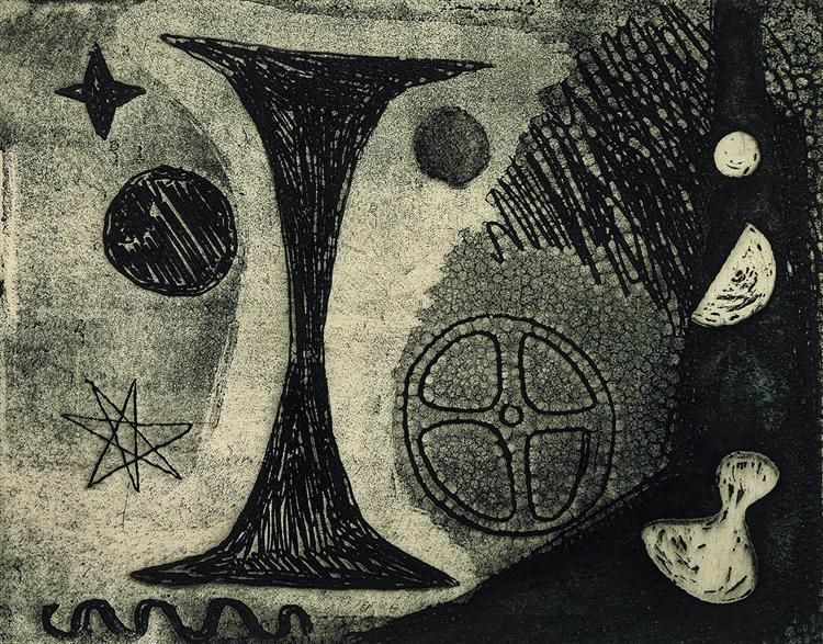 The Big I, 1944 - Alexander Calder