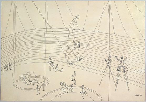 Alexander Calder Circus Drawings The Circus, 1932 - Ale...