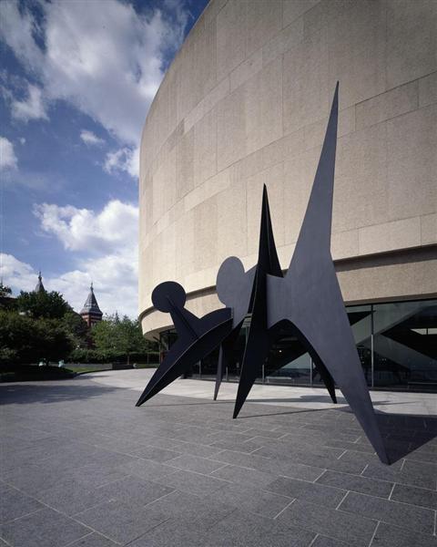Two Discs, 1965 - Alexander Calder