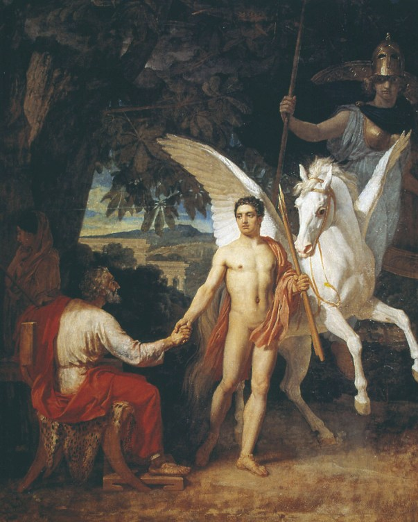 Bellerophon is sent to the campaign against the Chimera, 1829