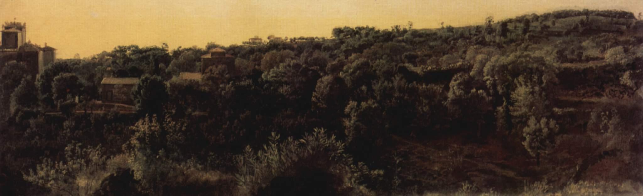 Chigi Palace on the Park, 1847