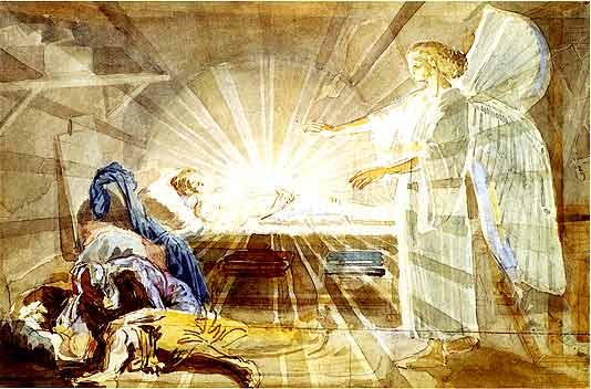 Dream of Joseph, c.1855 - Alexander Ivanov