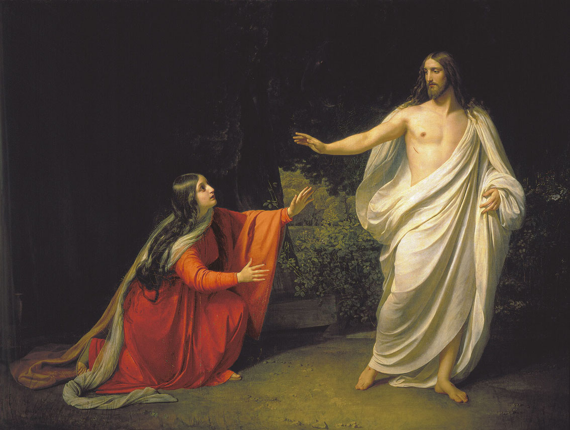 The Appearance of Christ to Mary Magdalene, 1835