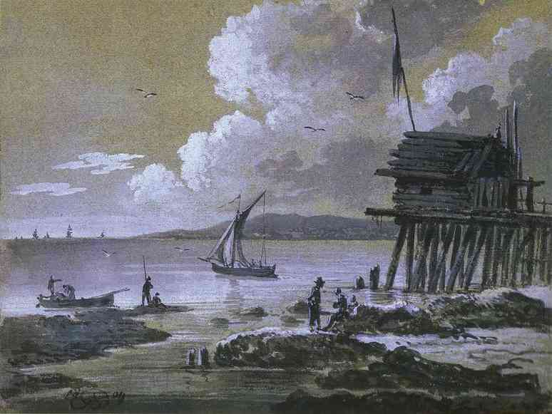 Seascape At Night, 1809