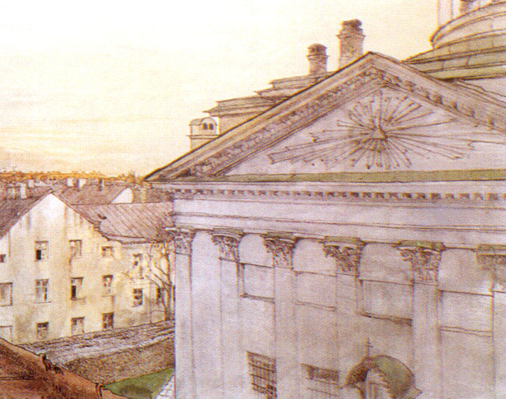 Church of St. Catherine in St. Petersburg, 1899 - Alexandre Benois