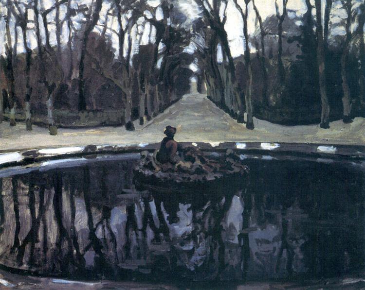 Flora Pool in Versailles, 1905 - 1906 - Alexandre Benois