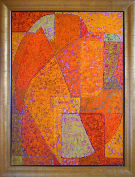 Composition orange, 1951 - Alexandre Istrati