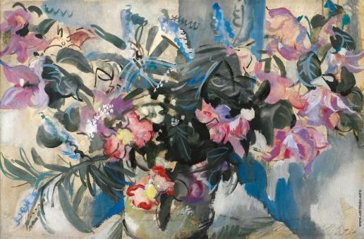 Flowers, 1930 - Alexandre Jacovleff