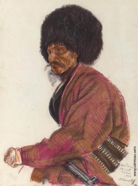 Turkmen. Khairat, 1931 - Alexandre Jacovleff