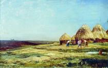 Ablyazov. Threshing - Alexey  Bogolyubov