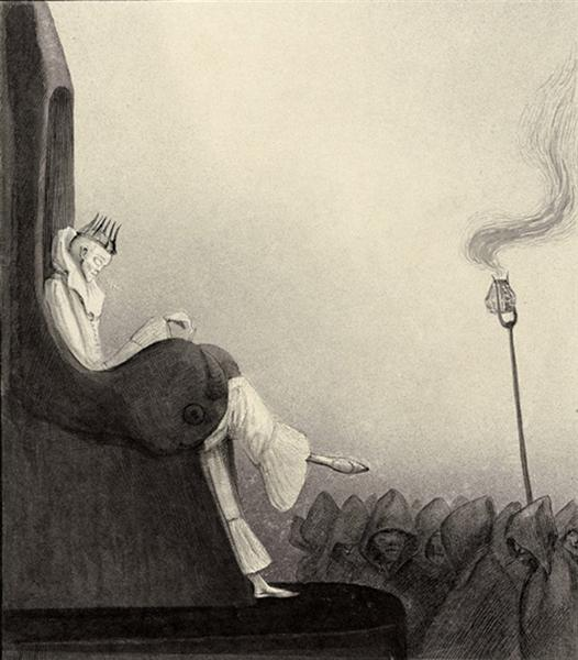 The Last King - Alfred Kubin