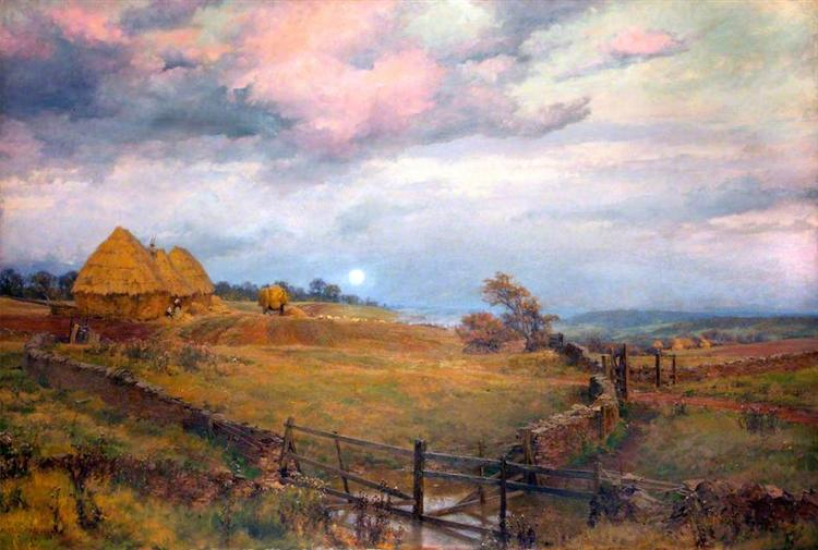 On the Cotswolds - Alfred Parsons