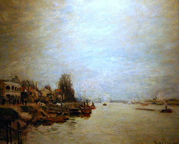 Dawn, 1878 - Alfred Sisley