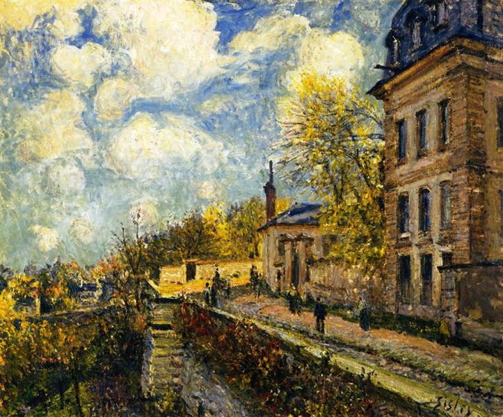 The Factory at Sevres, 1879 - Alfred Sisley
