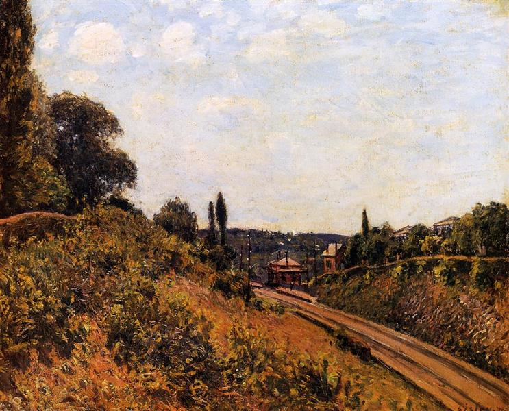 The Station at Sevres, 1879 - Alfred Sisley