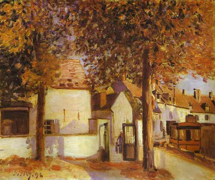 View in Moret, 1892 - Alfred Sisley