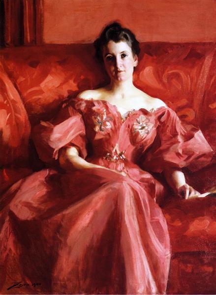 Portrait of Mrs. Howe, 1900 - Alfred Stevens