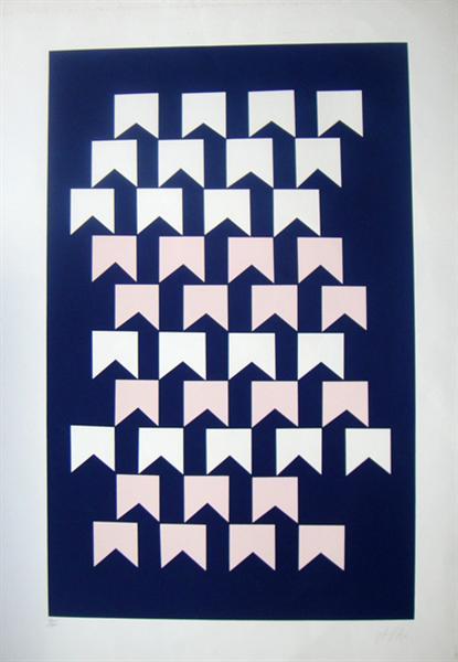Bandeirinhas, 1950 - Alfredo Volpi