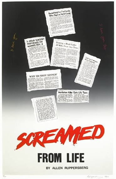 Screamed from Life, 1982 - Аллен Рупперсберг