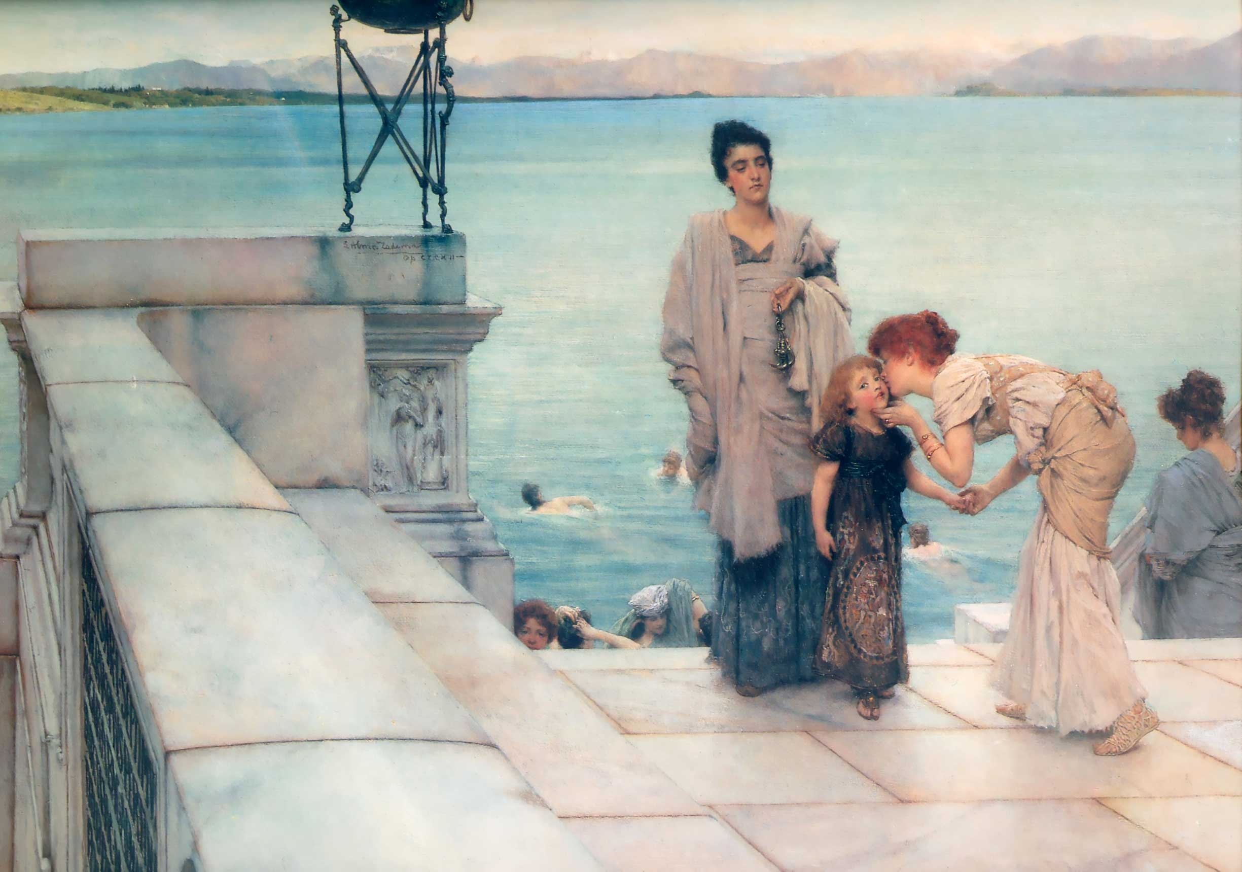 Lawrence Alma-Tadema - Page 2 A-kiss-1891