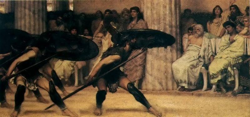A Pyrrhic Dance, 1869