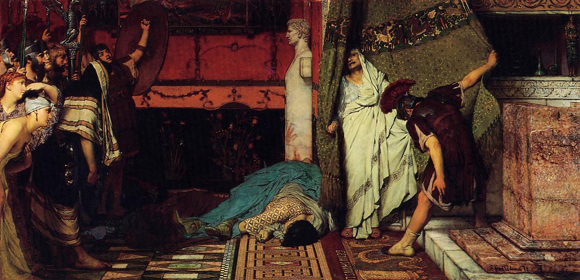 A Roman Emperor Claudius, 1871