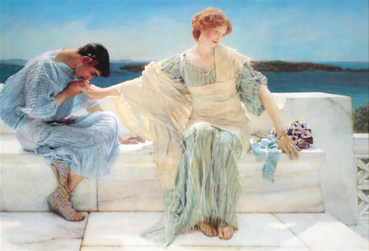 Ask me no more, 1906 - Sir Lawrence Alma-Tadema