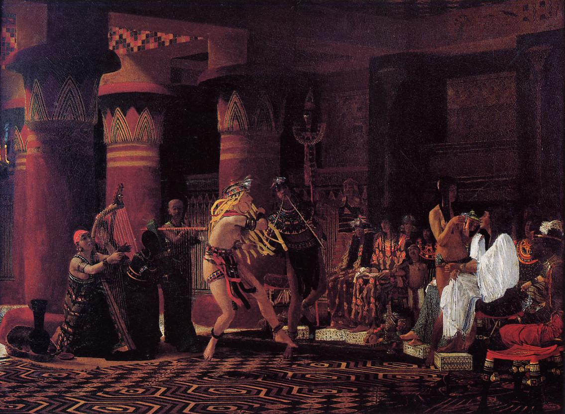 Pastimes in Ancient Egyupe 3 000 Years Ago, 1863