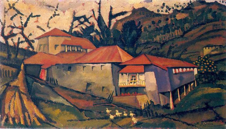 Brook House, 1913 - Амадеу ди Соуза-Кардозу