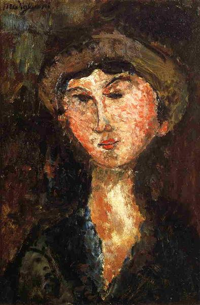 Beatrice Hastings, 1914 - Amedeo Modigliani