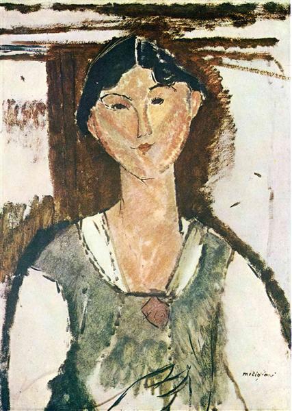 Beatrice Hastings, 1915 - Amedeo Modigliani