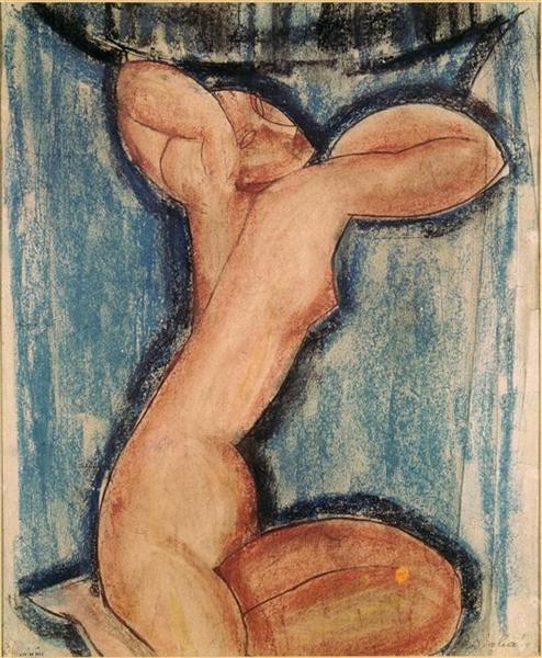 Caryatid, 1911 - Amedeo Modigliani